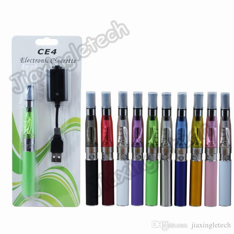 Ego ce4 bolha cigarros eletrônicos vaporizador Ego T Bateria 650mAh 900mAh 1100mAh Ce4 Atomizador Clearomizer e cigarro 30pcs muito
