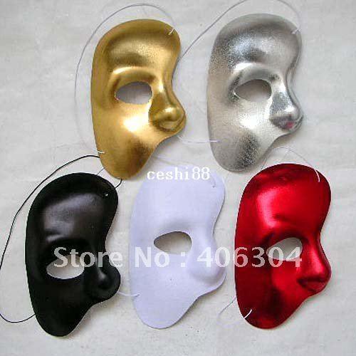 30 pz / lotto Il fantasma delle maschere del partito dell'Opera Maschere per travestimento Maschera del costume del partito della decorazione di Halloween