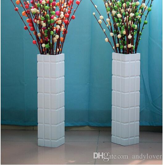 Real Wood Floor Large Vases Flower Arrangement Household Act The - Large vases for living room