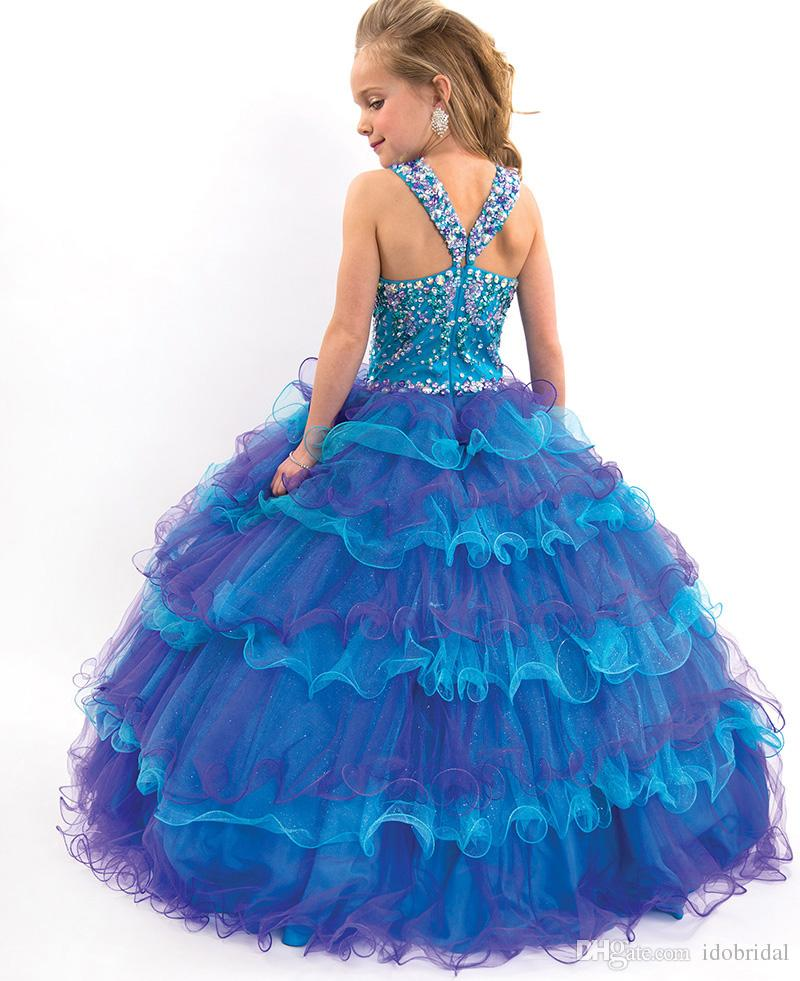 Beauty Pageant Dresses For Girls Junior Teens Toddler Pageant ...