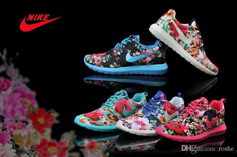 2015 Nike Wmns Roshe Run Print Floral