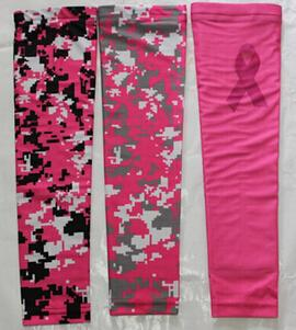 wholesale 200pcs new cancer breast Digital Camo sleeve Arm Sleeve guard for adult and children 138 colors 7 sizes in stock
