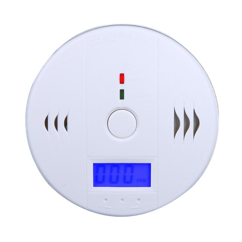 New-Arrival-LCD-CO-Carbon-Monoxide-Poisoning-Sensor-Monitor-Alarm-Detector-White-freeshipping-dropshipping