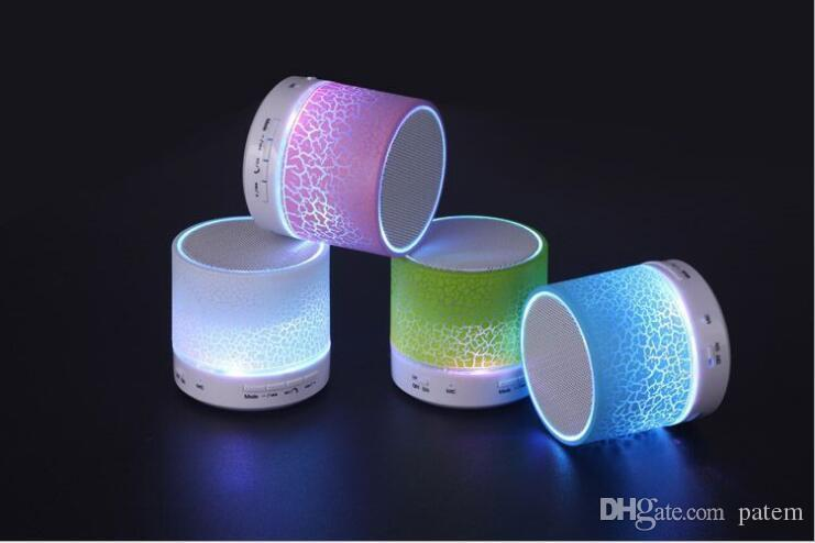 2021 New H08ua Bluetooth Speaker Mini Portable With Beautiful Led Light Support Fm Radio Tf Card For Smart Phone Dhl From Patem 4 53 Dhgate Com