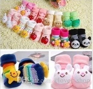 Chaussettes pour bébés bébé nouveau-né garçons chaussures d'extérieur fille filles nourrissons enfants promenades enfants chaussettes chaussettes cadeau enfants