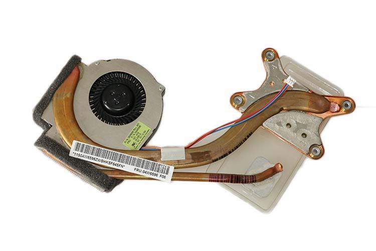 nuovo dispositivo di raffreddamento originale 04W6596 per il dissipatore di calore IBM LENOVO THINKPAD T410 con ventola