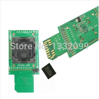 eMCP162 / 186SD test adapter emcp programmer BGA162 socket burning socket BGA162 test fixture