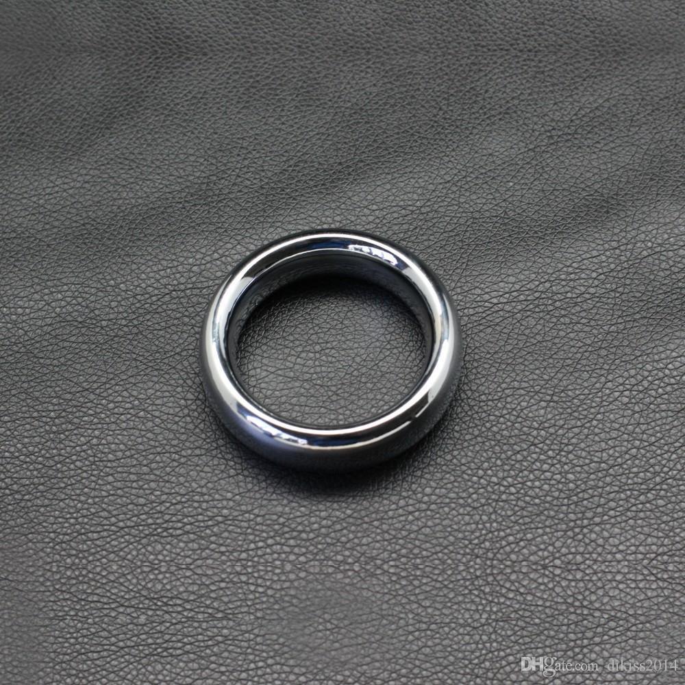 2016 새로운 진동 Cockring 순결 라운드 금속 수탉 반지, 합금 음경 45mm / 47mm / 50mm, 남성을위한 지연 시간 루프, 성인 제품 무료 배송