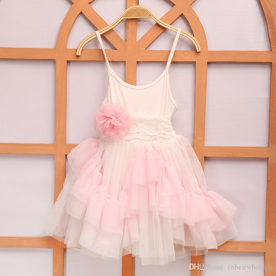 2018 2016 kids girls singlet lace dresses baby girl ruffle princess 2016 kids girls singlet lace dresses baby girl ruffle princess dress babies wholesale clothing negle Gallery