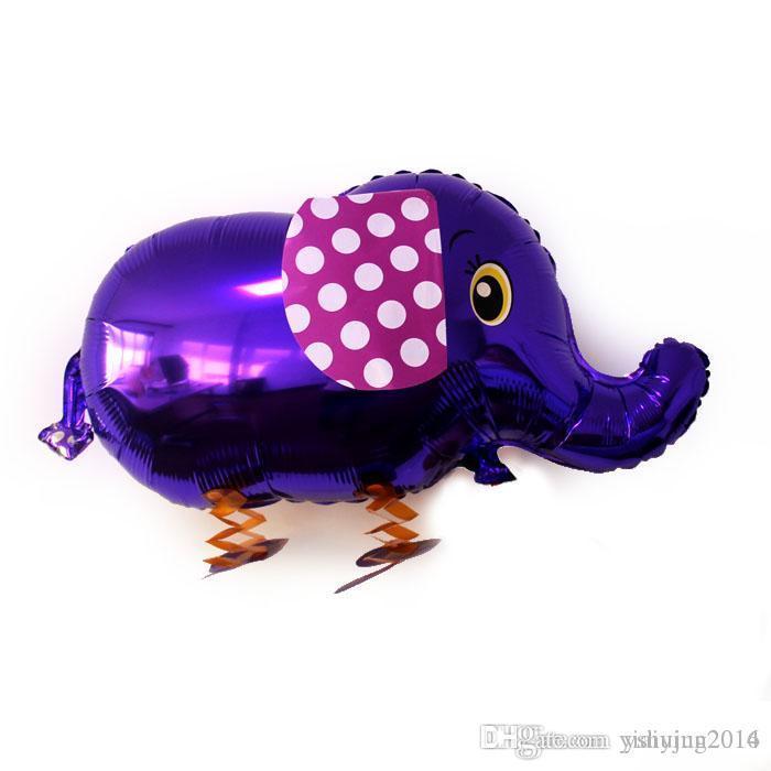 도매 고품질 싼 걷는 동물 풍선 풍선 알루미늄 산책 애완 동물 풍선 크리스마스 장식 어린이 장난감