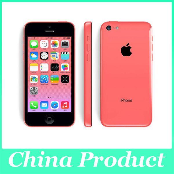 """Оригинальный отремонтированный разблокированный Apple iPhone 5C 16GB / 32GB двухъядерный I5C A5C IOS 32GB 4.0 """"IPS 3G WiFi GPS мобильный телефон 002849"""