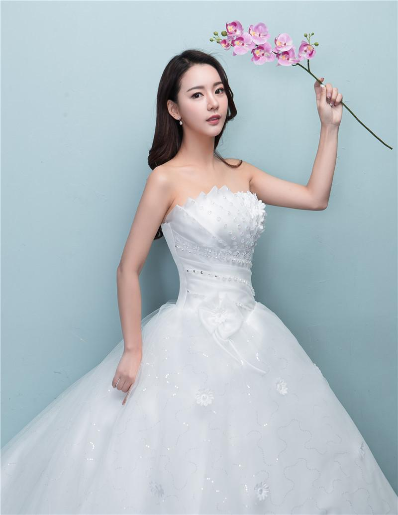 Ball Gown Real Luxury Lace Ball Gown Tulle Princess Wedding Dress ...