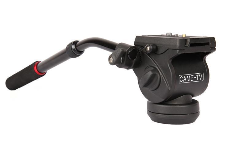 Mini Fluid Pan Head With Handle For Tripod