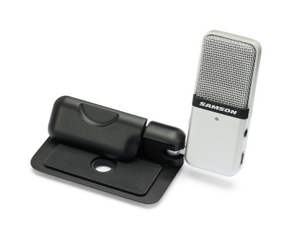 2015 Nuevo Samson Go Mic Compacto USB portátil micrófono de condensador micrófono de grabación para computadora y notebook envío gratis