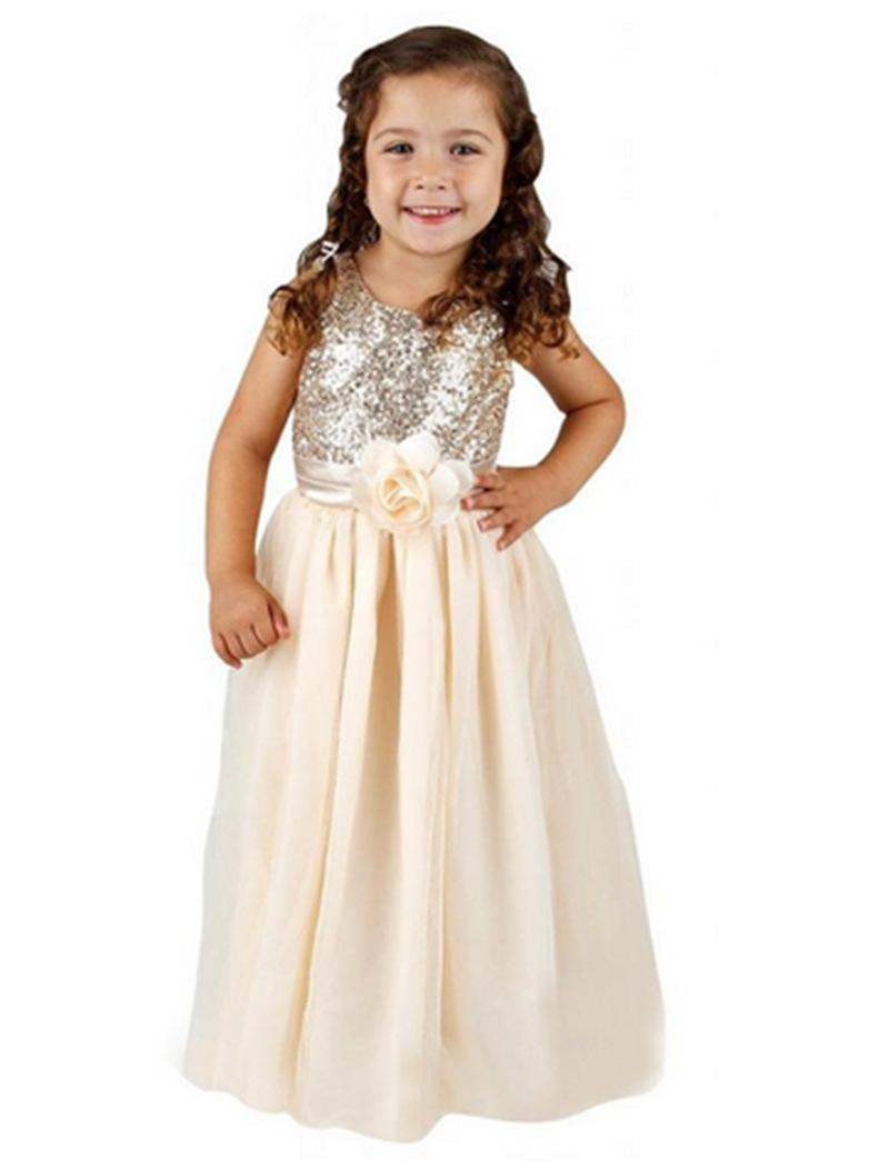 Cheap 2015 Kids Wedding Dresses, Childrens Clothing Pageant Party ...