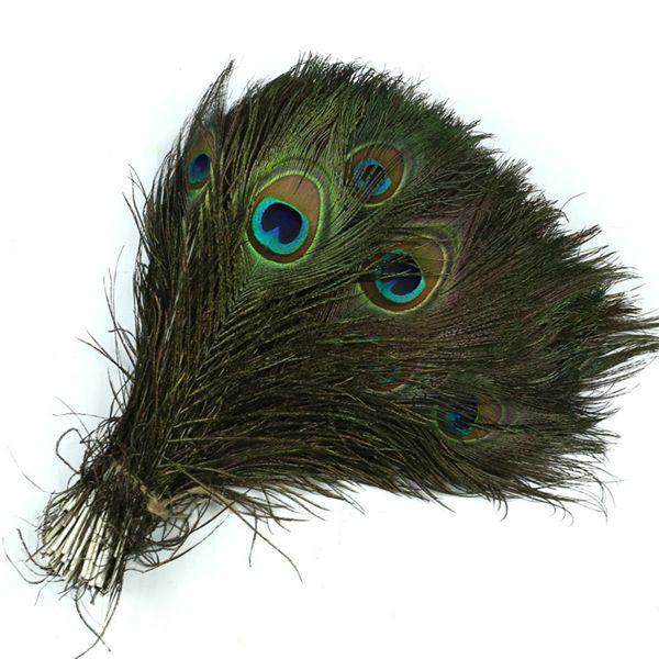 Павлиньи перья украшения 25-30 см подлинная натуральная павлинье перо элегантный партия центральные украшения стола павлиньи перья