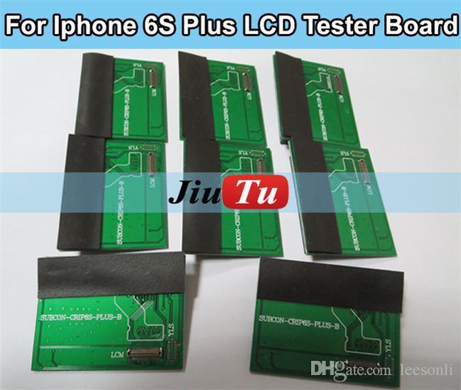 Tela lcd touch screen tester test placa de circuito impresso para iphone 4 4s 5g 5s 5c 6g 6 plus 6 s 6 s além dhl frete grátis
