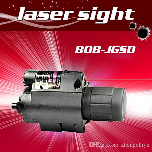 Pistola 650nm vista rossa del laser di allineamento mira portata con la torcia elettrica luminosa eccellente del LED laser rosso Combo vista per fucile
