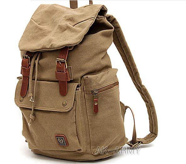 borse Preppy Style zaino di tela zaino casuali borsa di tela zaino da viaggio borsa uomini studenti coreani borsa