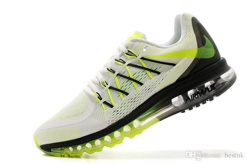 Großhandel Nike Air Max 2015 Laufschuhe Flyknit Herren Laufschuhe Günstige Beste Tennis Jogging Schuhe Freies Verschiffen Von Bestnk, $61.93 Auf