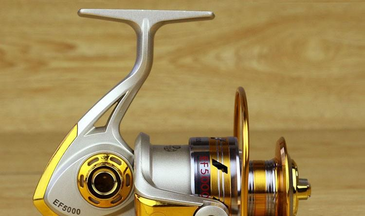 1x Exclusive quality All Metal spinning fishing reel line winder speed ratio 5.11 to Ocean Sea boat Rock Ice fishing tackle (4)