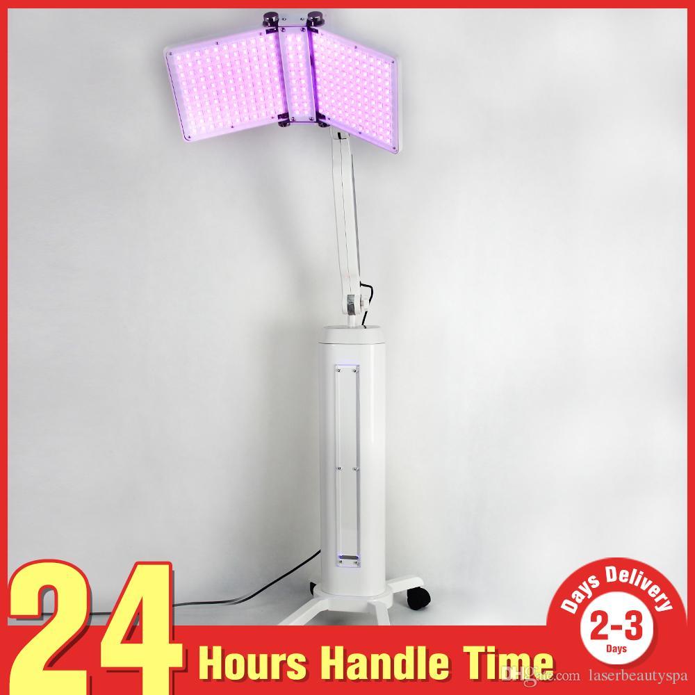 광자 얼굴 미백 Lighten 7 색 LED PDT 여드름 주름 제거 바이오 라이트 테라피 스킨 레 저 네이션 뷰티 머신