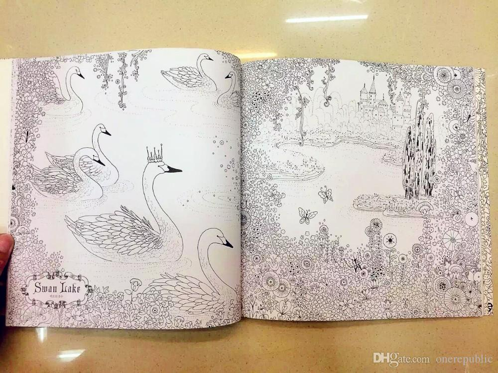 Cheap The Fairy Tale Colouring Book Secret Garden Style Coloring ...