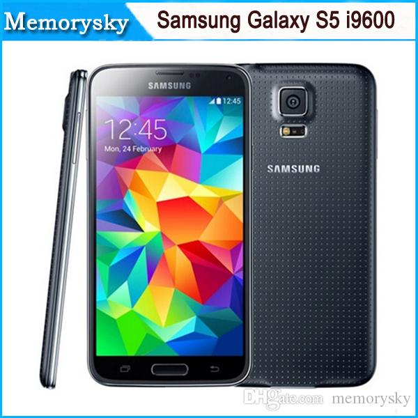 "Original Refurbished Samsung Galaxy S5 i9600 2GB RAM 16GB ROM 16MP Camera Quad Core 5.1"" Inch Cell Phone"