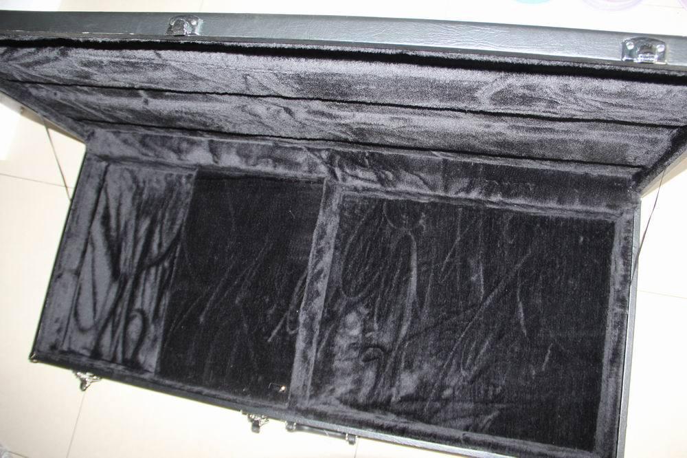 Atacado - Black Hardcase Não vendido separadamente para guitarra de braço duplo