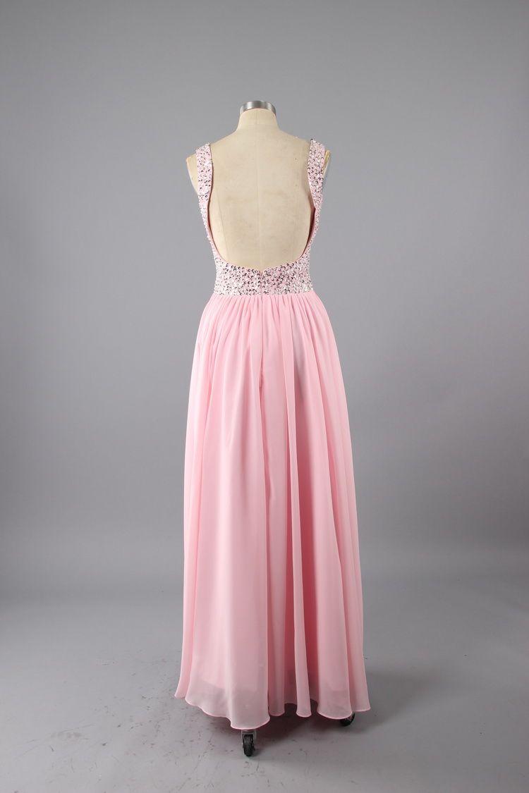 In Stock Prom Dresses Under $100 Chiffon Prom Dresses Floor Length ...