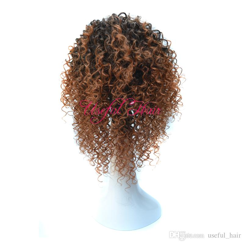 wholesale synthetic wig KINKY CURLY Micro braid wig african american braided wigs brazilian hair wigs 18inch synthetic wigs for black women