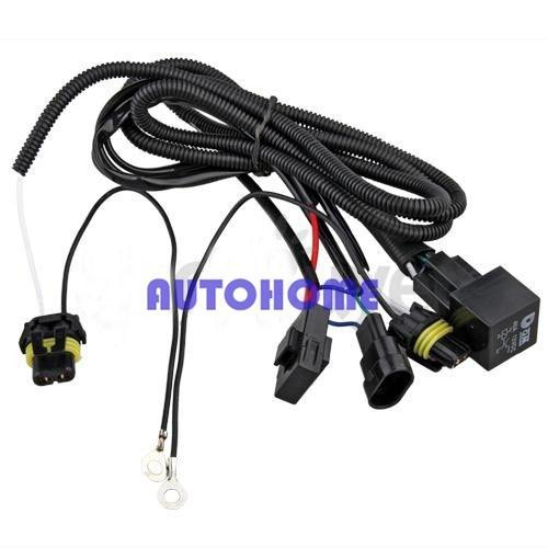 Xenon HID Conversion Relay Wiring Harness H11 9005 9006 (3)