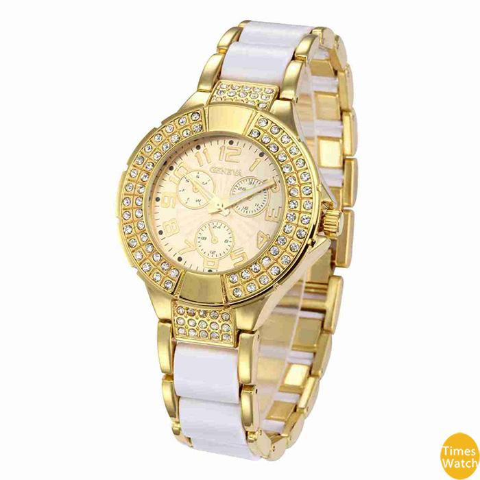 diamand Бесплатная доставка часы женщины платье часы розовое золото Римский циферблат кварцевые подарочные часы стандартное качество классические часы