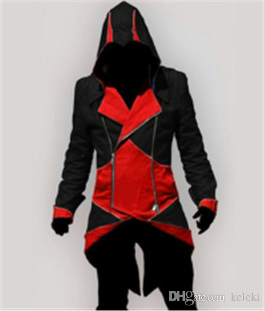 Cosplay Jacket Assassins Creed 3 III Connor Kenway Hoodies/Costumes Jackets/Coat 9 colors choose direct from factory