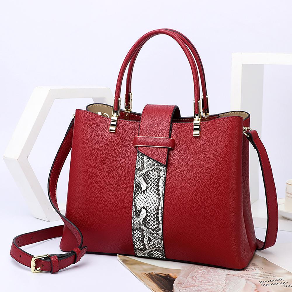 HBP Totes Tote Bag Borse Borse Borse Borse a spalla bagagli Fashion PU Shopping Bag Bag Donne Borse Borse Tote Bags Beach Bag