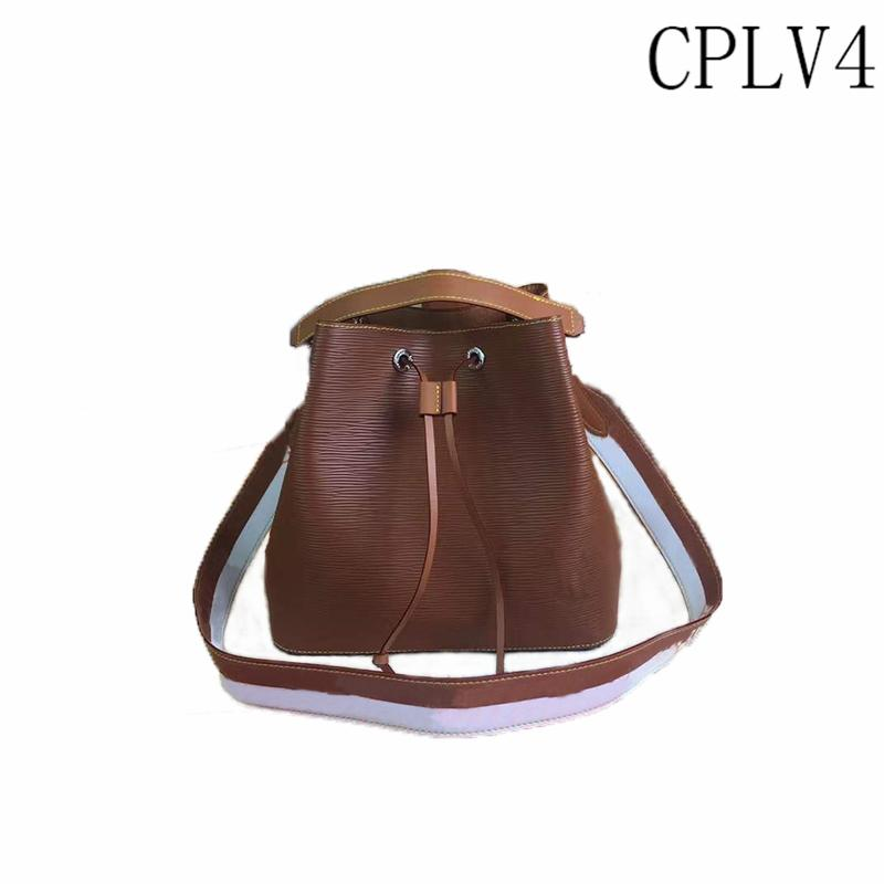 Balde saco de couro de mulher de alta qualidade diagonal sacos de ombro 2021 Moda e luxo All-Match Bolsas este ano