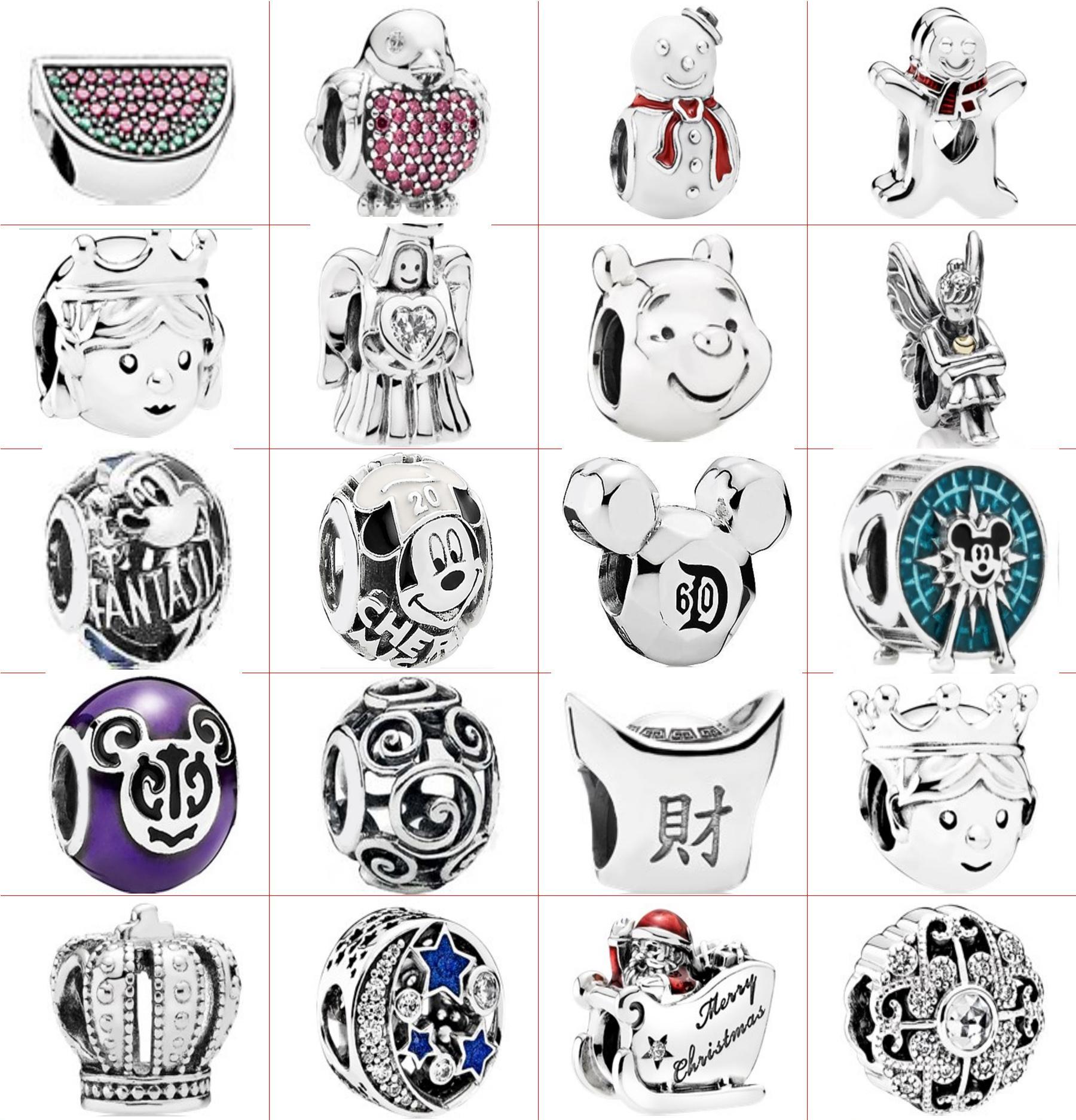 Fahmi 2020 925 Sterling Silver Moda DIY Cartoon Creative Battle Bransoletka Łańcucha Bead Charm Factory Outlet