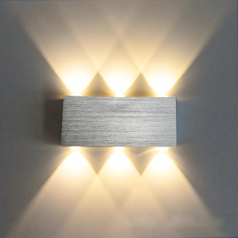 LED Wandleuchte Modernes Licht Schlafzimmer Nachts Wohnzimmer Gang Corridor Treppen Badezimmer Fixture Sconce Decorative