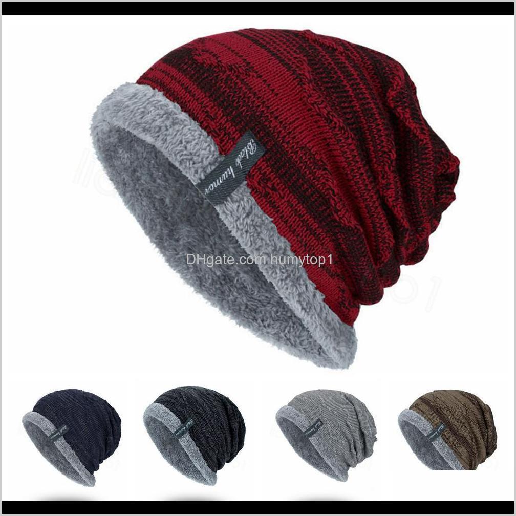 5styles alinhados respirável chapéus quentes de inverno chapéu de lã de inverno esporte ao ar livre elástico macho engrossar tampas de lã ffa3371c bjd1w beanies cg5xq