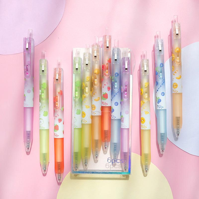 Neutral Creative Beating Cartoon Fruit Pen