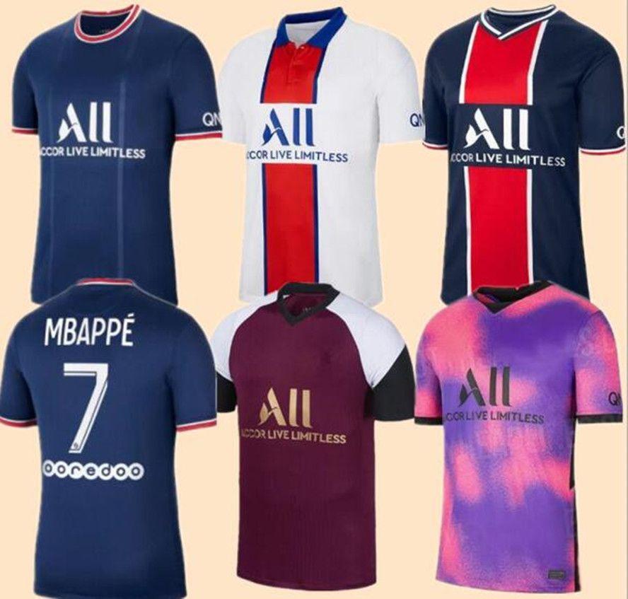 NEYMAR JR MBAPPE ICARDI PSG 20 21 22 soccer jersey Fußball Trikots 2020 2021 Paris Saint Germain Trikot Survêtement Fußball Fußball Shirt Frauen Fußball Trikot