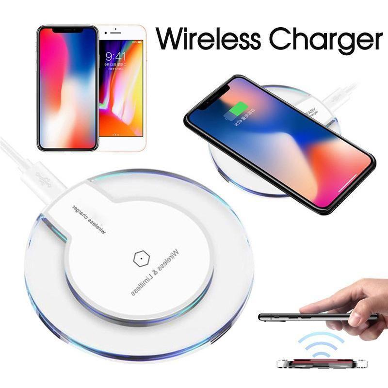 Hızlı Kablosuz Şarj iphone 12 11 Pro XS Max X XR Qi Lüks Kristal Şarj Pedi Kutusu ile Fit Samsung