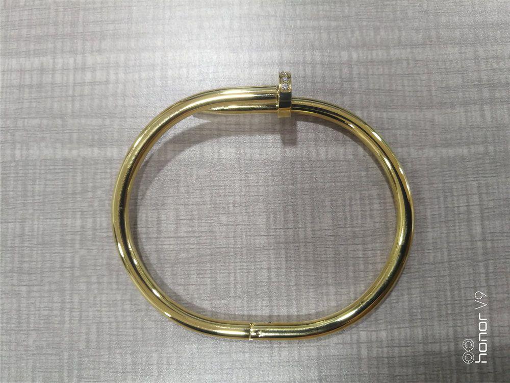 Оптовая продажа моды мужчины женщины пара подарочные браслеты Bling алмаз 316L из нержавеющей стали браслет из нержавеющей стали No Nade дизайн ювелирных изделий браслет с коробкой