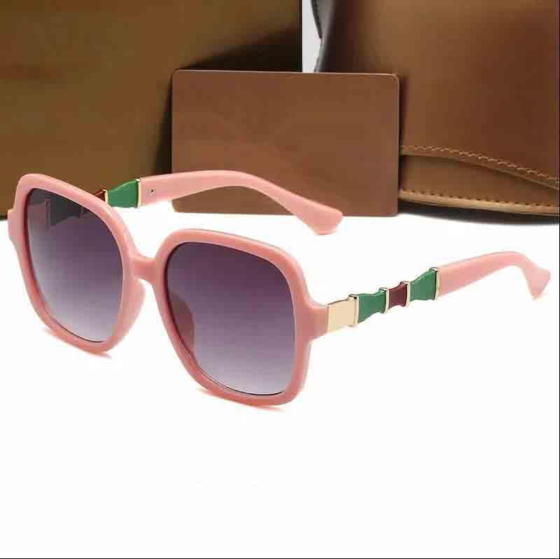 2021 Hot Designer Sunglasses Marca 0659 Proteção UV Vidros ao ar livre PC Rack Classic Senhoras Luxo Óculos de sol