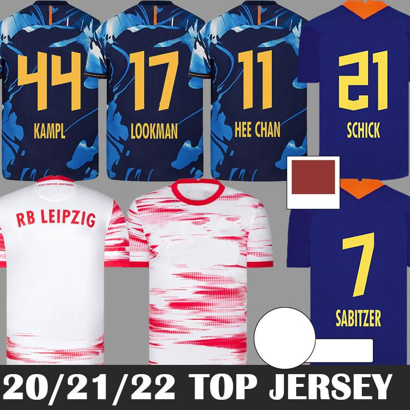 Acquista RB Leipzig 20 21 Maglia Da Calcio Casa Fuori Casa Terza OLMO Camiseta HEE CHAN Maillot HALSTENBERG SABITZER 2020 2021 Maglia Da Calcio Kit ...