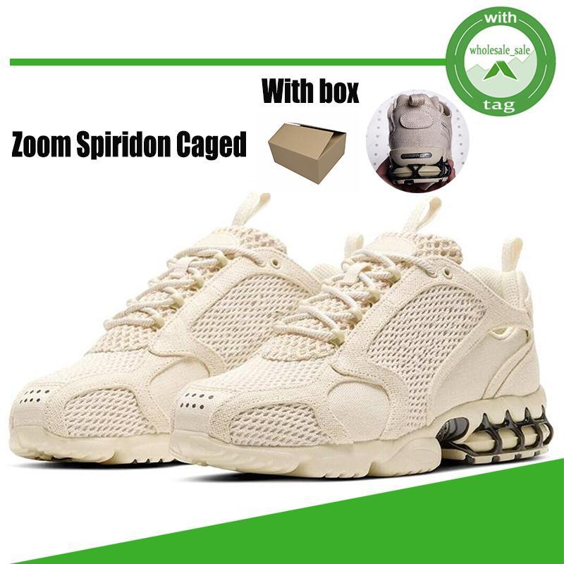Zoom Spiridon Yeni Yakınlaştırma Spiridon Kafesli 2 Erkek Koşu Ayakkabı 3M Spor Eğitmenler Parça Kırmızı Bej Modacı 1000 Kadınlar Sneakers CU1854-200