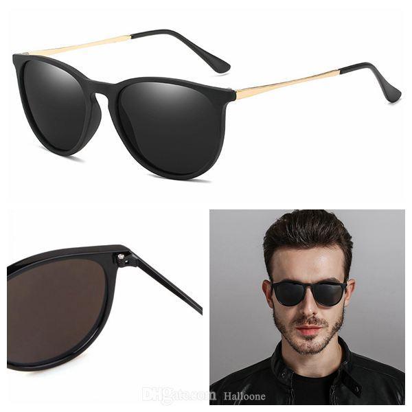 Klassische Sonnenbrille Hohe Qualität Luxus Männer Frauen Vintage Pilot Marke Sonnenbrille Designer UV400 mit Kasten und Fall