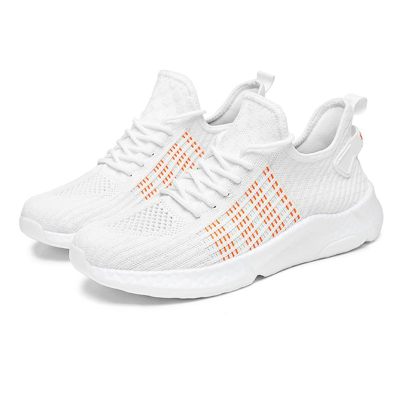 39-46 Plus Size Men's White Running Shoes Lightweight Esportes Sapatos para Homens Casuais Andando Black Sneakers Zapatos de Hombre
