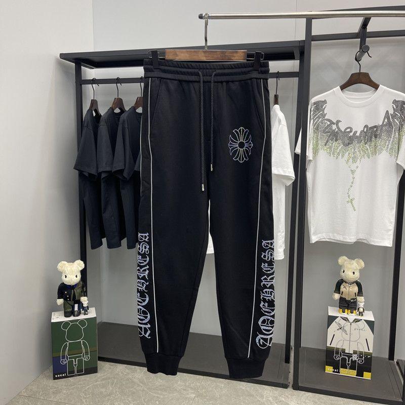 Yeni Matkap Moda Chacro Marka Sıcak Sanskriti Çapraz Yansıtıcı Şerit Spor Pantolon Rahat Tayt XBBS