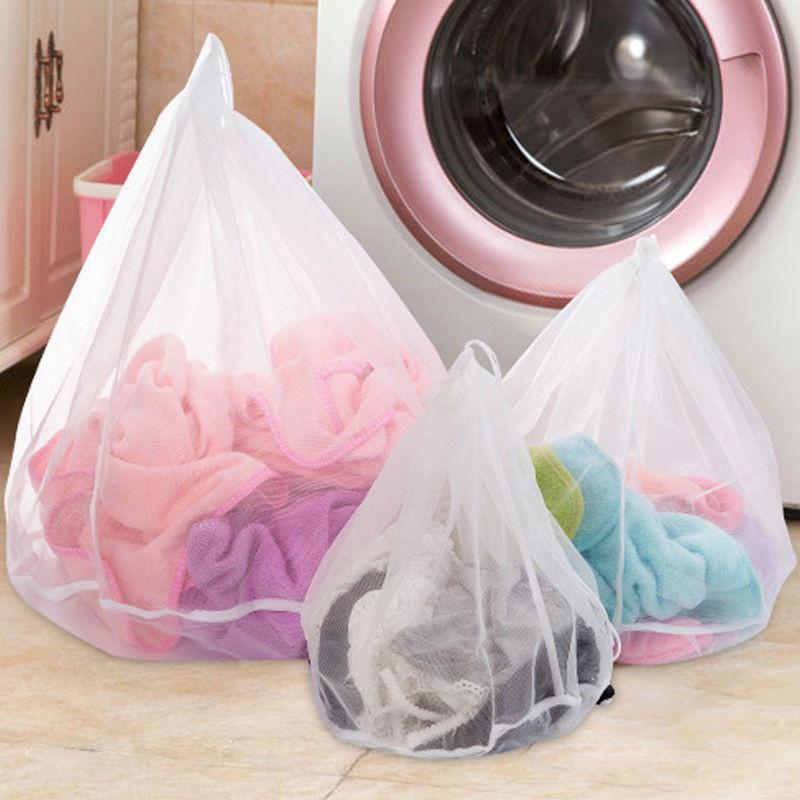Hot Sell New Washing Machine Used Mesh Net Bags Laundry Bag Large Thickened Lingerie Underwear Bra Clothes Socks Wash Bags LZ0383